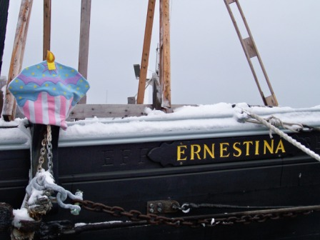 Happy Birthday, Ernestina!  What will the next 117 years bring?