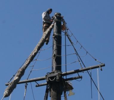 inspecting masthead April 2011