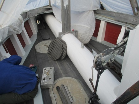 bowsprit painted