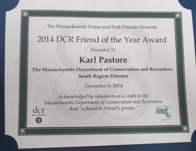 Pastore award