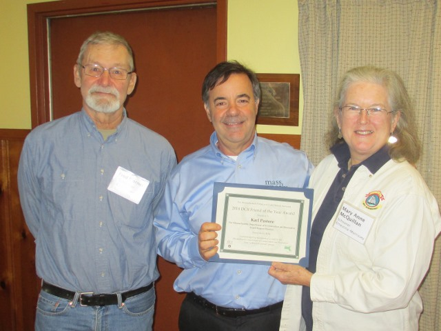 Commissioners Fred Sterner, Karl Pastore and SEMA Secretary Mary Anne McQuillan