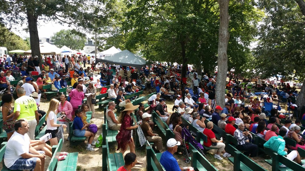 Thousands attend the Festival to reconnect with friends and enjoy a beautiful summer day.