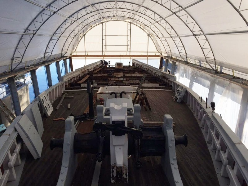 photo credit:  Boothbay Harbor Shipyard