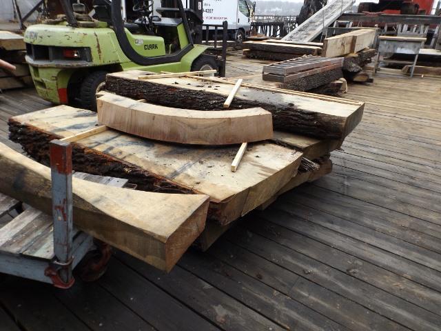 Live oak stock and futtock