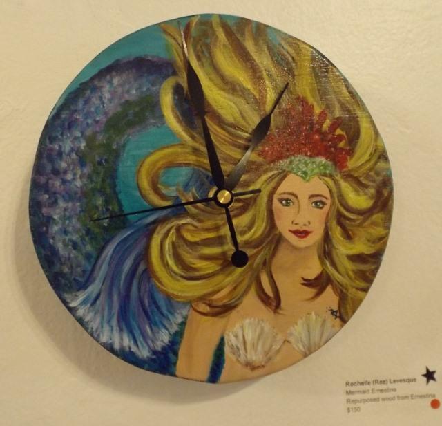 Mermaid Ernestina by Rochelle (Roz) Levesque
