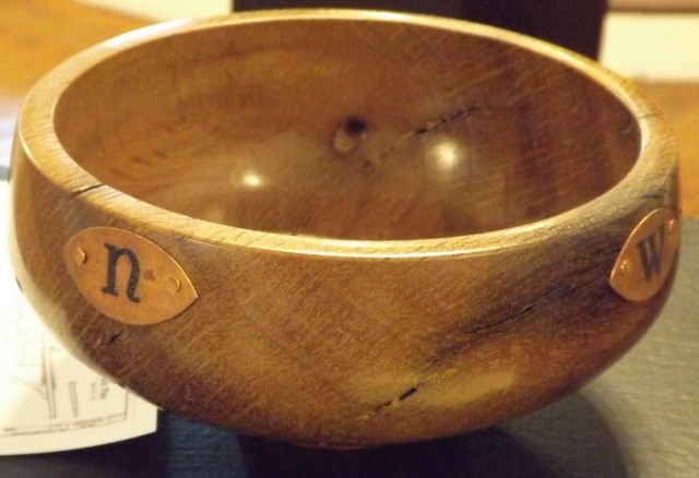 Oak Bowl by Philip Arcouette