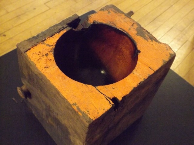 Bowl with Nail (inside) by Lennie Langevin