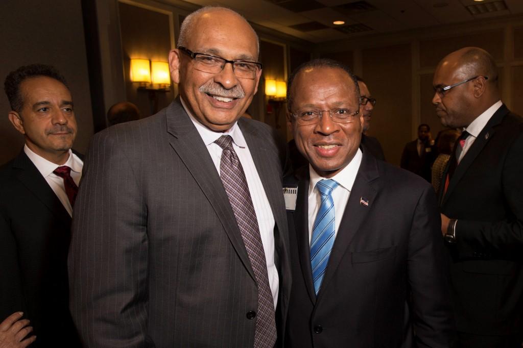 SEMA Director Mike Gomes and Cape Verde Prime Minister Ulisses Correia e Silva