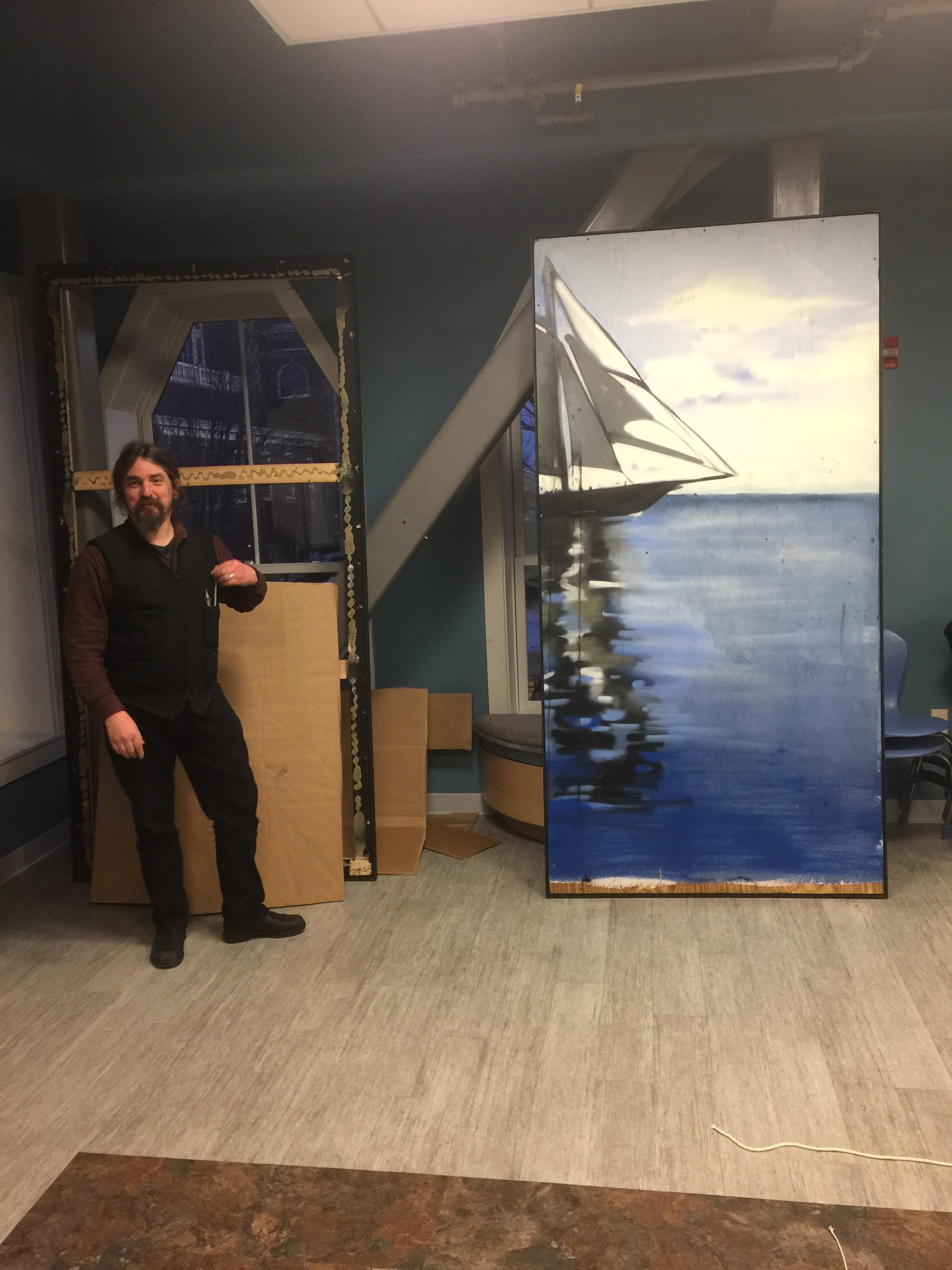 NBWNHP  Artist-In-Residence Artist David Higgins