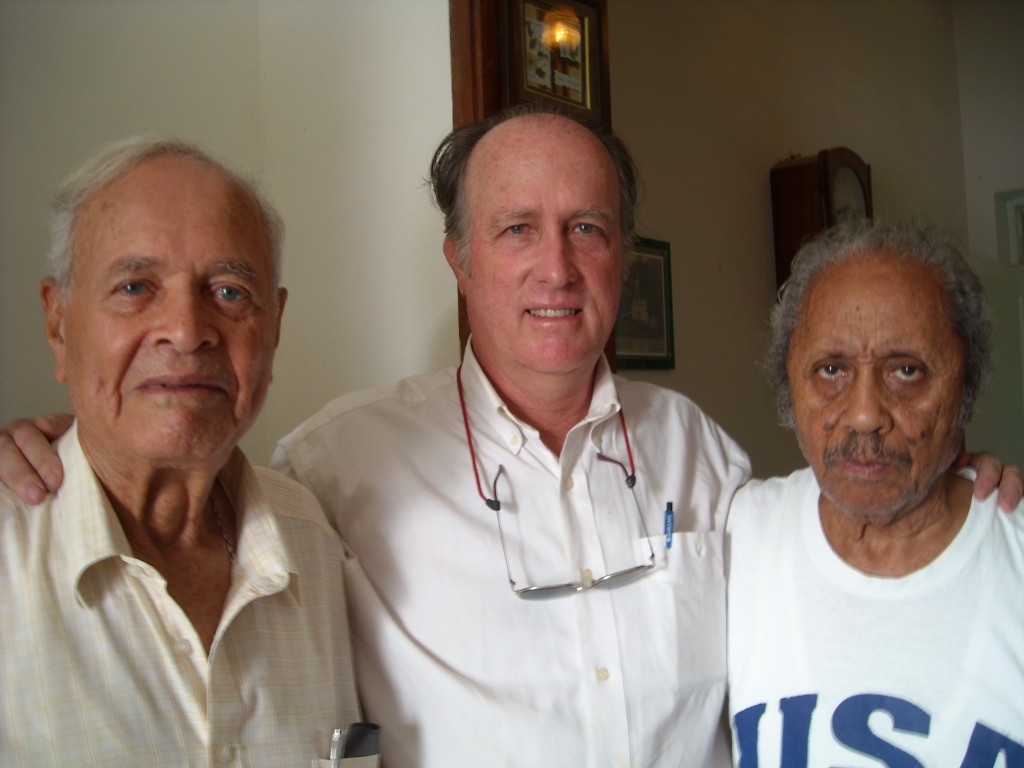 Three former captains of ERNESTINA:Captain Alberto Lopes; owned and sailed vessel in 1960's, Captain Daniel Moreland: finished vessel, achieved SSV-R status and National Landmark status, Captain Marcos Lopes; Delivered rebuilt vessels from CV to New England 1982Mindelo, Sao Vincent, RCV 2009