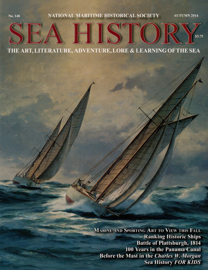 2014 Sea History Autumn Cover