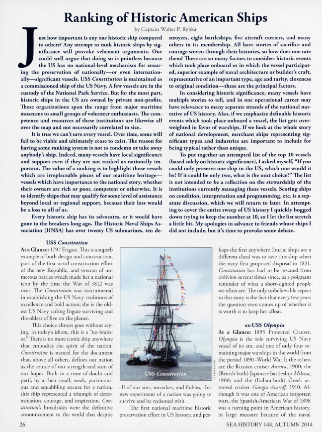 2014 Sea History Autumn Page 26