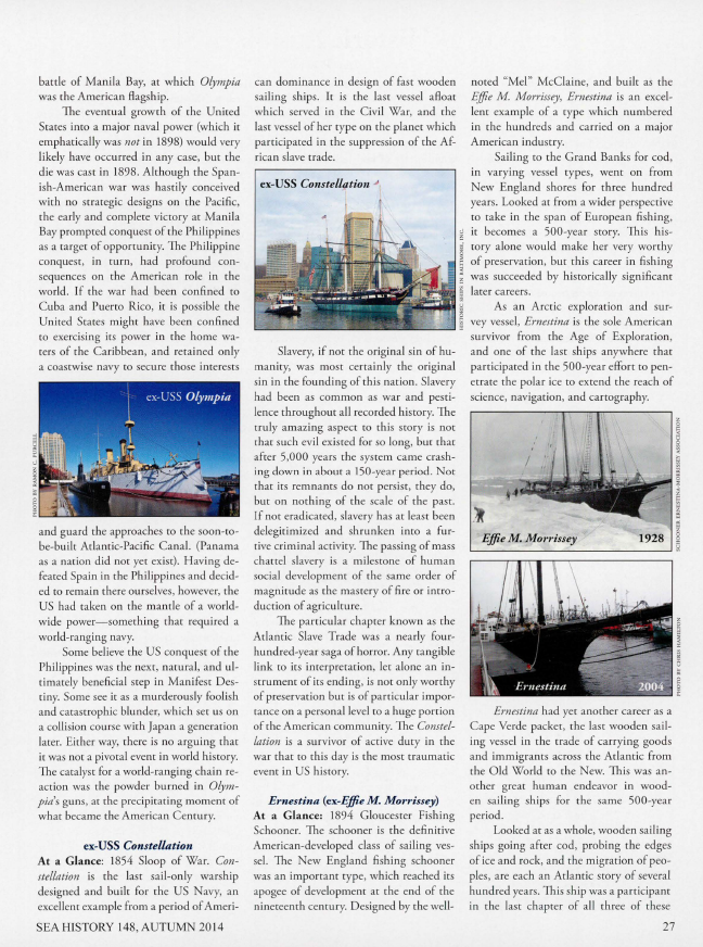 2014 Sea History Autumn Page 27