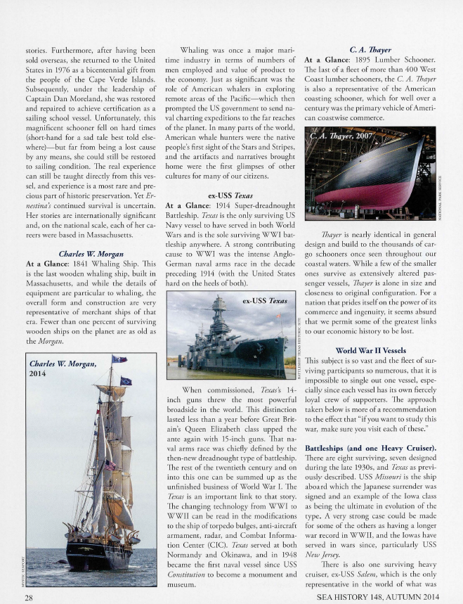 2014 Sea History Autumn Page 28