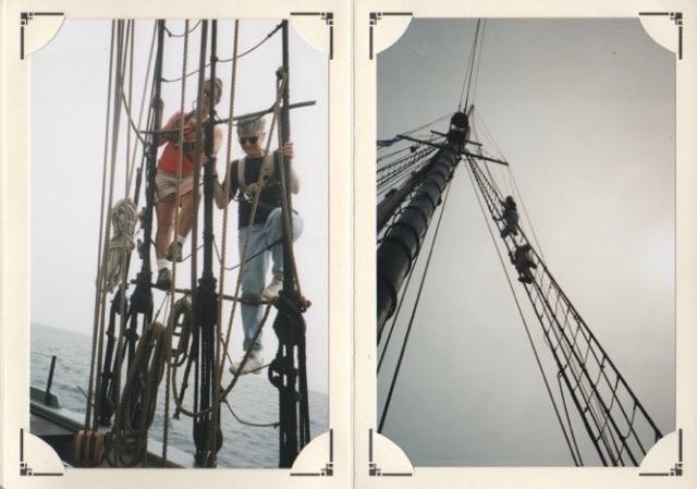 2000 ~ Schooner Ernestina Elly and David Rubin