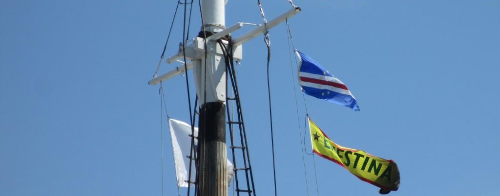 20140706 IMG_0002 ernestina banner & CV flag    horiz crop (2)