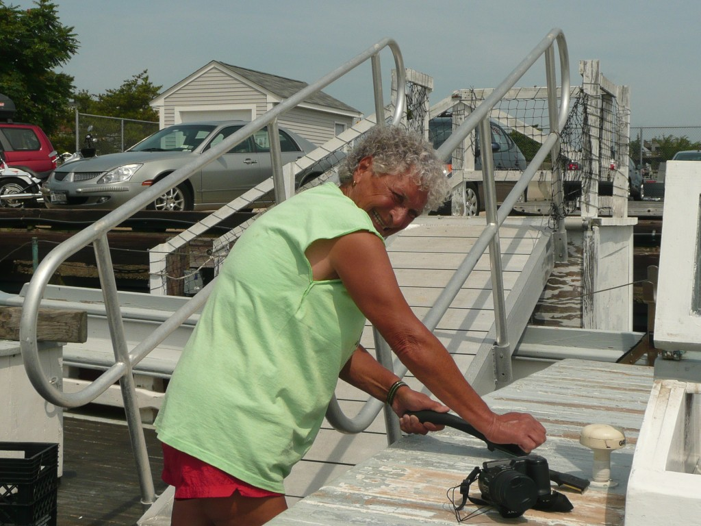 """Anna Pay ~ """"The Mayor of State Pier"""" ~ She was always ready to lend a hand!"""