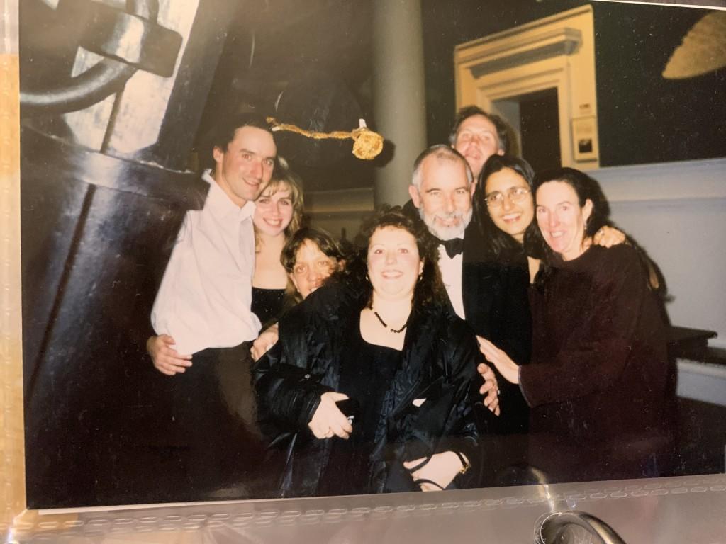 Chris, Tracey, Polly, Tom, Z