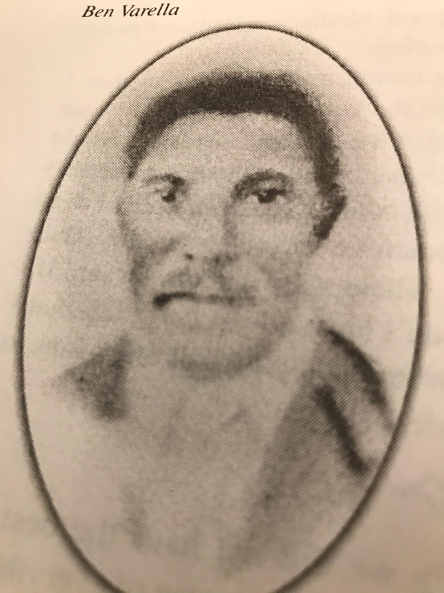 Julius Britto's Great Grandfather Bernardino Horta Varella