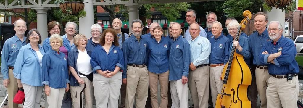 New Bedford Sea Chantey Chorus at NB Custom House Park