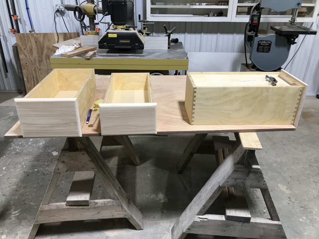 A nice example of high-end joinery for this one-of-a-kind ship